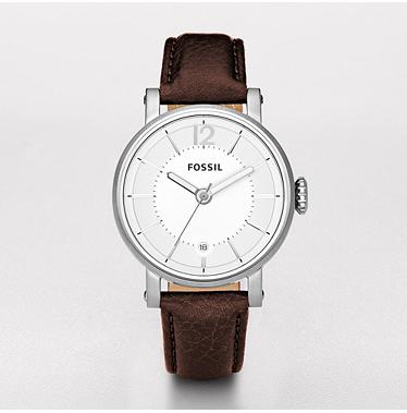 Fossil ES2293 Analog Silver Dial