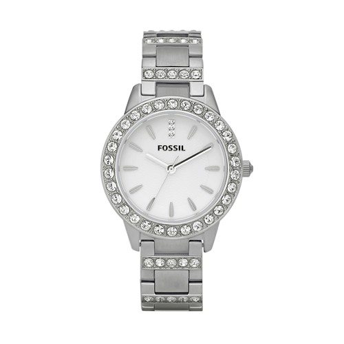 Fossil Jesse Three Hand Stainless Steel Watch - ES2362
