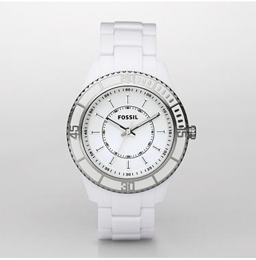 Stella Analog White Dial