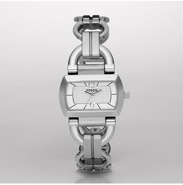 Fossil ES2479, Analogue Silver Dial