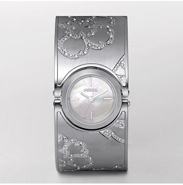 Fossil ES2492 Lucy Silver Analog