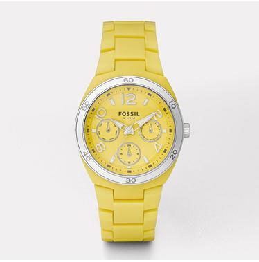 Fossil ES2518 Berkley Yellow Multifunction