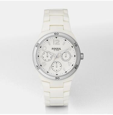 Fossil ES2520, Berkley White Multifunction