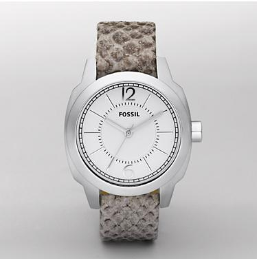 Fossil ES2549, Analogue White Dial