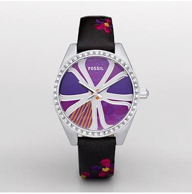 Fossil ES2574 Analog Flower Dial