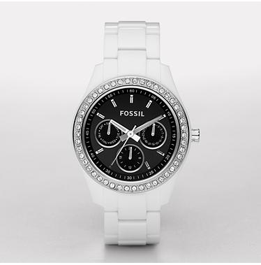 Fossil ES2669, Stella Black Multifunction
