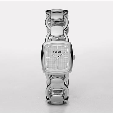 Fossil ES2675, Analog Silver Dial
