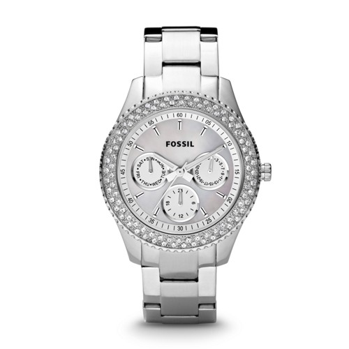 Fossil Stella Multifunction Stainless Steel Watch - ES2860