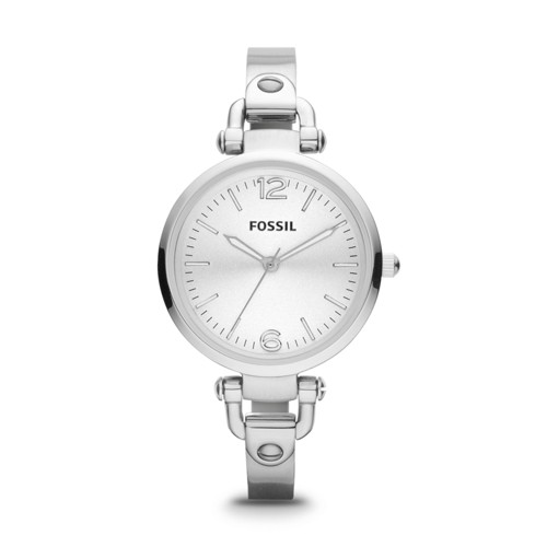 fossil Georgia Stainless Steel Watch ES3083
