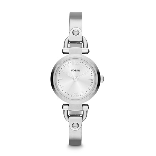 fossil Georgia Mini Stainless Steel Watch ES3269
