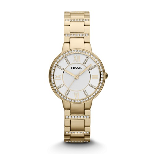 Virginia Gold-Tone Stainless Steel Watch ES3283