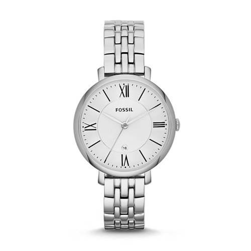 fossil Jacqueline Stainless Steel Watch ES3433