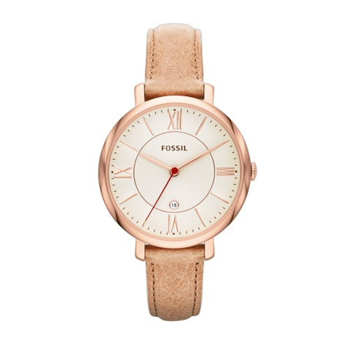 Jacqueline Sand Leather Watch ES3487