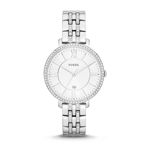 Fossil Jacqueline Stainless Steel Watch Es3545