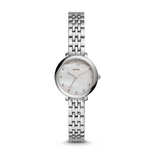 Fossil Jacqueline Mini Three-Hand Stainless Steel Watch Es4029