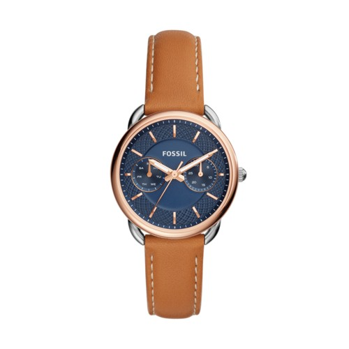 Fossil Tailor Multifunction Luggage Leather Watch ES4257