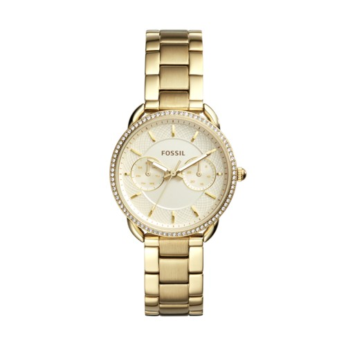 Fossil Tailor Multifunction Gold-Tone Stainless Steel Watch ES4263