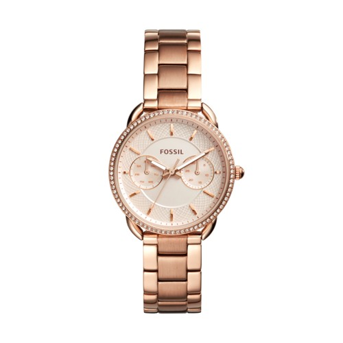 Fossil Tailor Multifunction Rose Gold-Tone Stainless Steel Watch ES4264