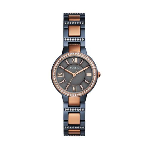 Fossil Virginia Three-Hand Two-Tone Watch ES4298