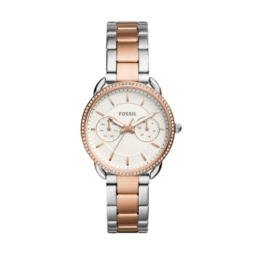 Fossil Tailor Multifunction Two-Tone Stainless Steel Watch ES4396