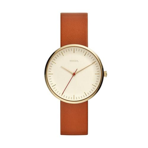 Fossil Essentialist Three-Hand Luggage Leather Watch ES4424
