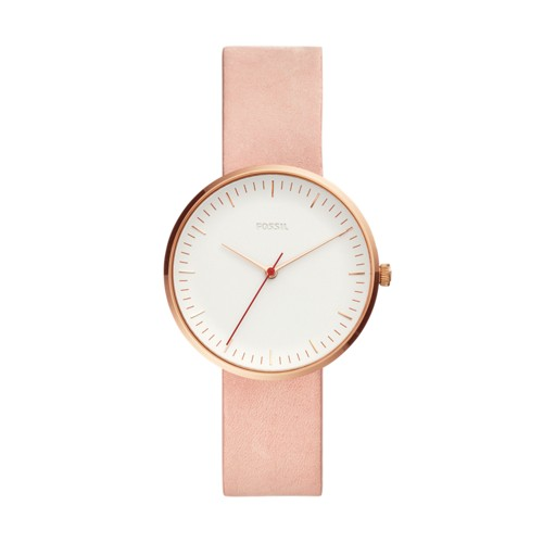 Fossil Essentialist Three-Hand Blush Leather Watch ES4426