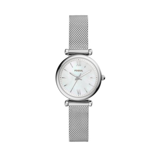 Carlie Mini Three-Hand Stainless Steel Watch ES4432