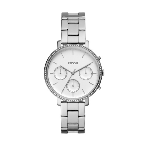 Fossil Sylvia Multifunction Stainless Steel Watch ES4435