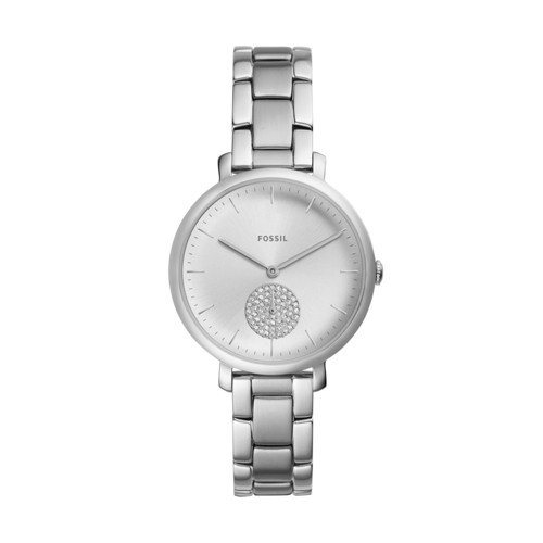 Fossil Jacqueline Three-Hand Stainless Steel Watch ES4437