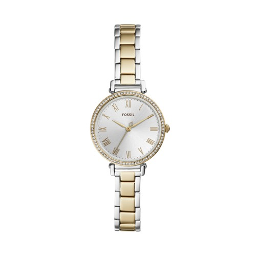 fossil Kinsey Three-Hand Two-Tone Stainless Steel Watch ES4449