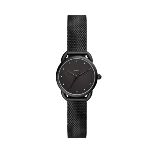 Tailor Three-Hand Black Stainless Steel Watch ES4489