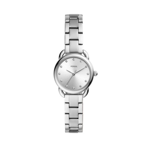fossil Tailor Mini Three-Hand Stainless Steel Watch ES4496