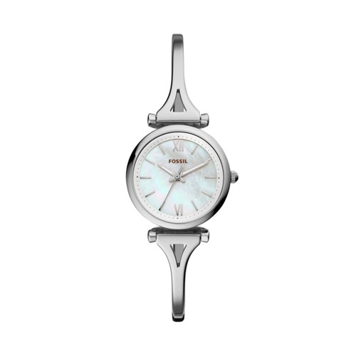 Carlie Mini Three-Hand Stainless Steel Watch ES4501