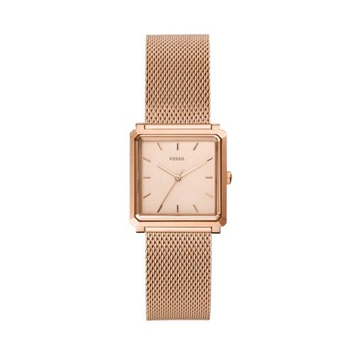 fossil Julienne Three-Hand Rose Gold-Tone Stainless Steel Watch ES4569