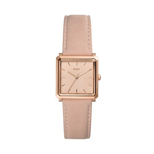 fossil Julienne Three-Hand Blush Leather Watch ES4570
