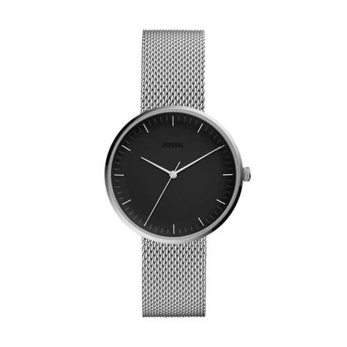 fossil Essentialist Three-Hand Stainless Steel Watch ES4610