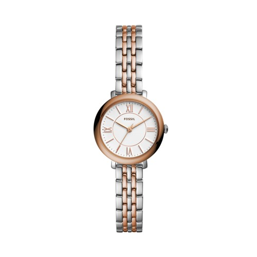 Jacqueline Mini Three-Hand Two-Tone Stainless Steel Watch ES4612