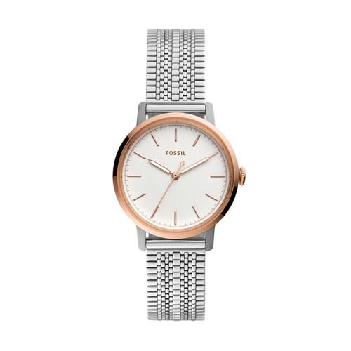 Neely Three-Hand Stainless Steel Watch ES4644