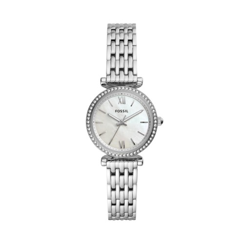 Carlie Mini Three-Hand Stainless Steel Watch ES4647