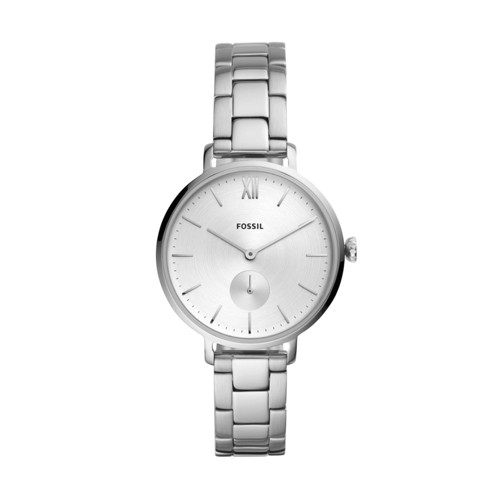 Kalya Three-Hand Stainless Steel Watch ES4666