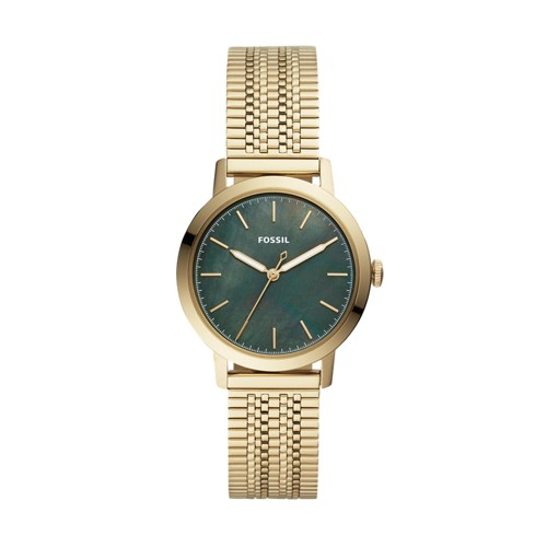 Neely Three-Hand Gold-Tone Stainless Steel Watch ES4675