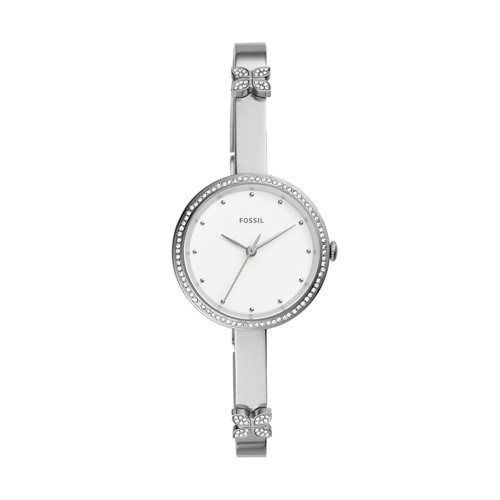 Maxine Three-Hand Stainless Steel Watch ES4677