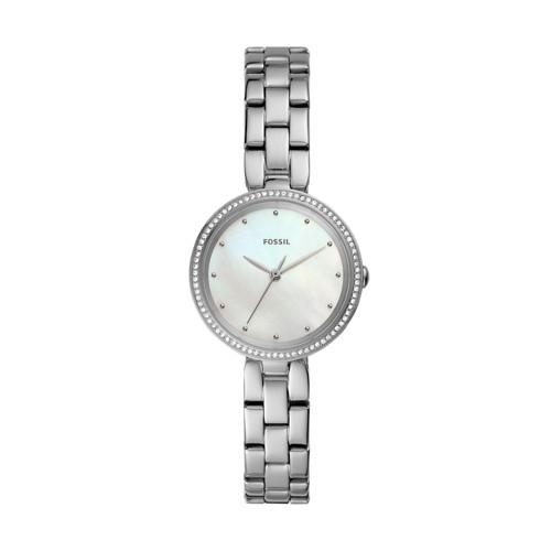 Maxine Three-Hand Stainless Steel Watch ES4679
