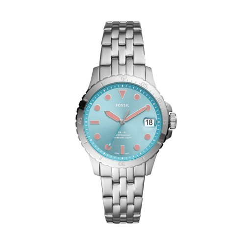 FB-01 Three-Hand Date Stainless Steel Watch ES4742