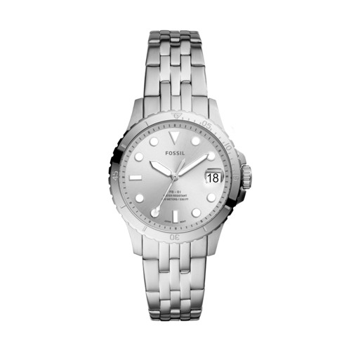FB-01 Three-Hand Date Stainless Steel Watch ES4744