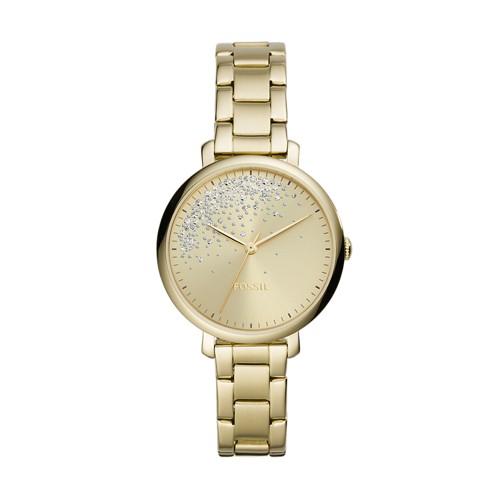Womens Gold Bracelet Watch Fossil