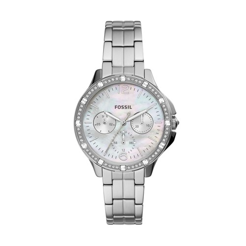 Fossil Finley Multifunction Stainless Steel Watch  jewelry