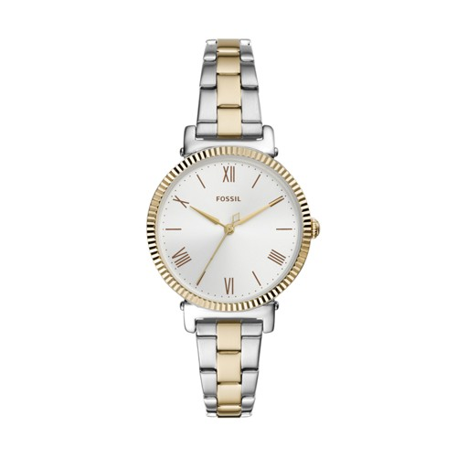 Daisy Three-Hand Two-Tone Stainless Steel Watch ES4792
