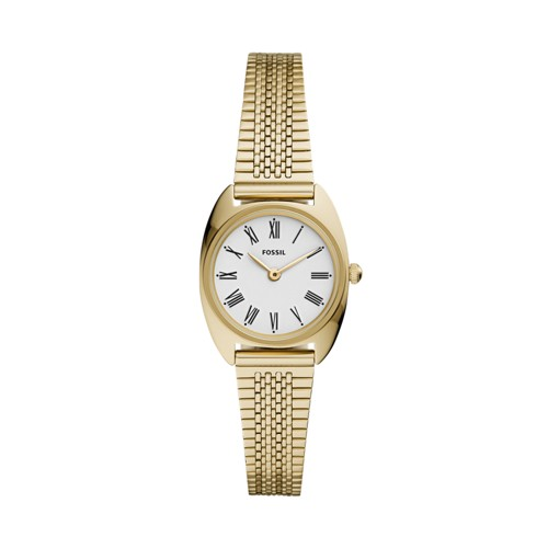 Jude Mini Two-Hand Gold-Tone Stainless Steel Watch ES4804