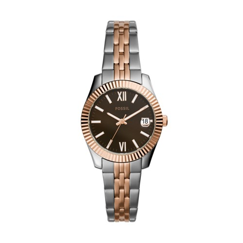 Scarlette Mini Three-Hand Two-Tone Stainless Steel Watch ES4821